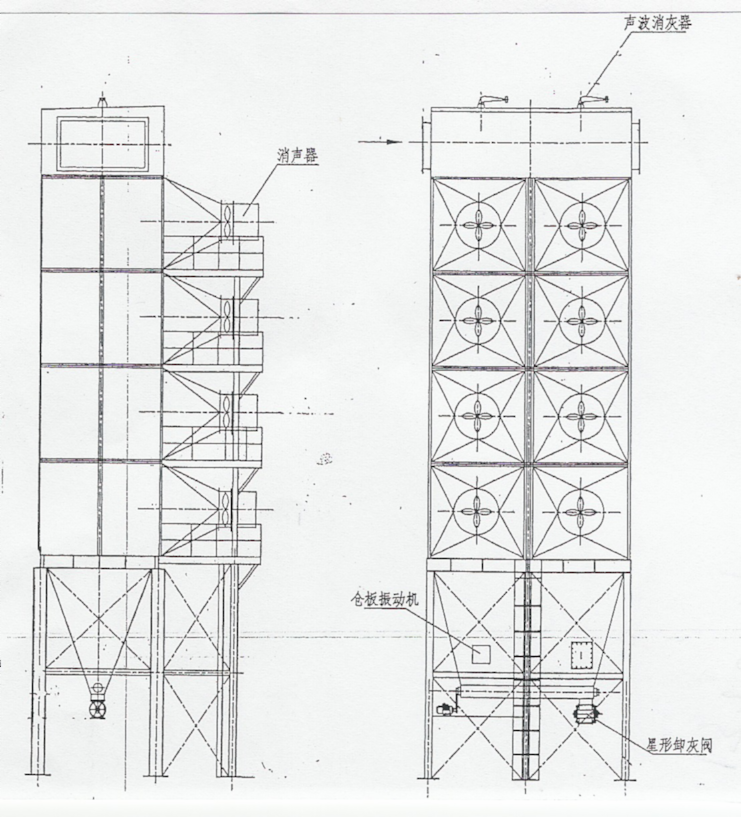 烘干塔料位器接线图